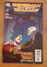 Superman First Thunder Shazam The Vengeance of Magic Cap Goes Wild #4 Comic Bk.