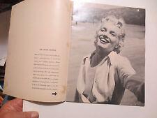 ORIGINAL IDENTIFIED CENSORED COPY OF THE  MARILYN MONROE PIN-UPS  MAGAZINE 1953