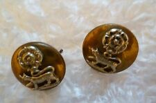 Buttons- York and Lancaster Regiment Button- PAIR (Bi-Metal)