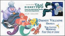 17-167, 2017, Disney Villains, Ursula, The Little Mermaid, DCP, FDC
