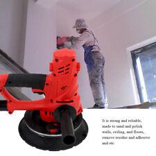 800W Drywall Sander Automatic Vacuum System Gyprock Wall Plaster Dust Free LED