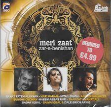 MERI ZAAT - ZAR - E - BENISHAN - BRAND NEW SONGS CD