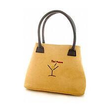 New martini tini tan brown handbag clutch purse