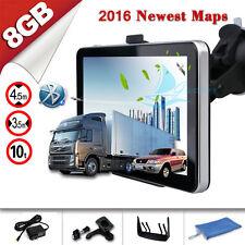 "7"" 8GB Truck & Car GPS Navigation Lorry Coach Satnav Bluetooth AV-IN HGV US Maps"