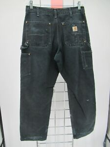 K6108 VTG Carhartt Men's Workwear Loose Original Fit Pants Size 32x30