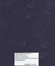 Brocade fabric ON SALE ! remarkable 100% poly Machine Washable Eggplant Fast Shp