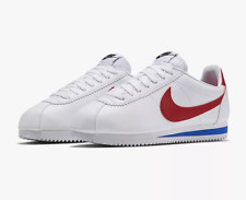 Nike Women's Classic Cortez 807471-103 Forest Gump White Red Blue SZ 5-10