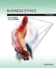 Business Ethics by Damian Grace, Stephen Cohen (Paperback, 2013)