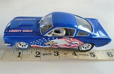 1:32 SCALE SLOT CAR CARRERA EVOLUTION EXCLUSIVE FORD MUSTANG LIBERTY EAGLE