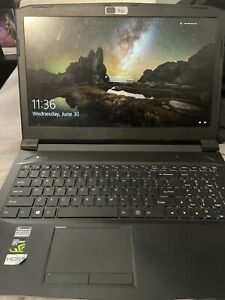 Sager N855HJ gaming laptop i7 7700hq gtx 1050 15.6in