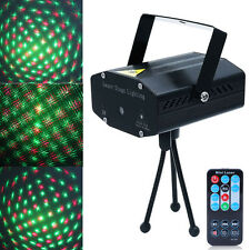 Mini LED Projector DJ Disco Light Stage R&G Party Laser Lighting Show + Remote