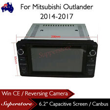 "6.2"" Car DVD GPS Navigation Head Unit Stereo For Mitsubishi Outlander 2014-2017"