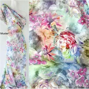 """(15,98€/m),145 cm breit,""""Aquarelle"""" 80% Leinen, Viskose, Meterware,pastell"""
