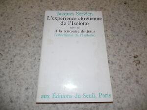 1969.L'expérience chrétienne de l'isolotto.Servien