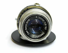 CARL ZEISS JENA TESSAR 50MM F/2.8 LENS IN SHUTTER WORKS-WERRA ADAPTABLE-DIGITAL