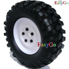 2pcs RC1.9'' Crawler Wheels & 96mm tires tyres For RC 4WD Axial Tamiya Crawler