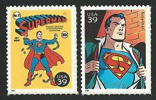 Superman #11 The Man of Steel DC Action Comics #1 Superhero US Stamp Set MINT NH