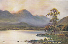 Postcard -    Coniston Water and The Old Man      ( Ref B11)
