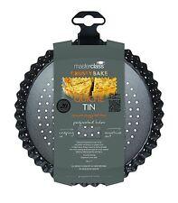 """MASTERCLASS 'Crusty Bake' Non-Stick Tart/Quiche/Flan Tin 18cm/7"""". Loose Base"""