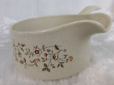 Lenox Temperware MERRIMENT Handled GRAVY BOAT Made in USA MINT