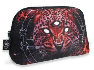 LIQUORBRAND Cosmic Leo Third Eye Lion Toiletries Cosmetic Purse Wash Bag