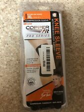 NEW Copper Fit Pro Series Performance Compression Knee Sleeve XLarge