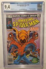 AMAZING SPIDER-MAN 238 NEWSSTAND W/ TATTOOZ CGC 9.4 1st HOBGOBLIN (WHITE PAGES