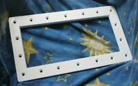 Hayward SPX1091F Wide Mouth Face Plate Replacement for in-wall skimmer pool