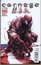 Carnage USA 2011 series # 1 near mint comic book