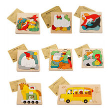 Animal Jigsaw Puzzle Toy Early Educational Montessori Toy Wooden Children Toy!