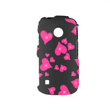 For LG Cosmos Touch VN270 Protector Hard Case Snap on Phone Cover Raining Hearts