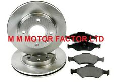 FORD FIESTA (02-08) 1.25 1.3 1.4 1.6 TDCi 16v FRONT BRAKE DISCS AND PADS SET