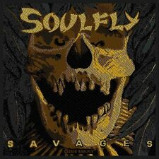 SOULFLY - Patch Aufnäher Savages 10x10cm