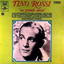 Tino Rossi - Ses Grands Succés - LP - washed - cleaned - # L 1326