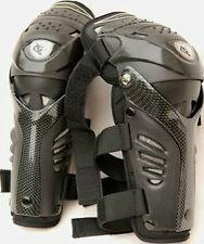 Nuevo Protector De Rodilla Con Bisagras De Motocross Wulfsport Adulto/Shin Almohadillas de Negro