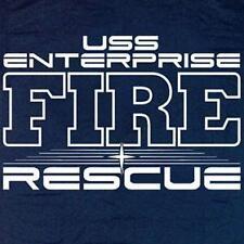 USS Enterprise Fire & Rescue T-shirt  2XL