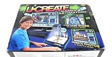 U-Create games & animation for mac or pc, 4 fun game modes, by Radica-ages 8+