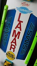 Old School skateboard inlay stickers Lamar Ayers Sims Alva Powell ACS G&S Hobie