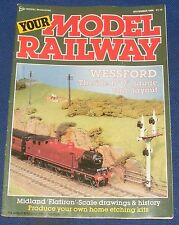 YOUR MODEL RAILWAY  NOVEMBER 1986 - WESSFORD