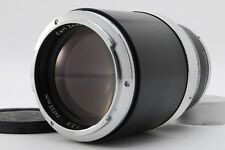 【AB Exc+】 Carl Zeiss Sonnar 135mm f/2.8 Lens Black for Contarex From JAPAN Y3167