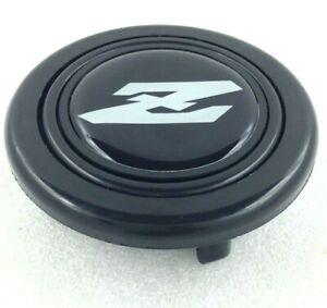 Datsun Z logo steering wheel horn push button. Fits Momo Sparco OMP Nardi Raid