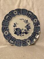 """Vintage lipper & Mann  Platter """"Blue Imari"""" From Japan 12"""""""