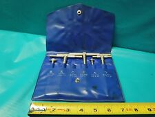 USED SET OF TELESCOPING GAGES RANGE 8-150MM MISSING ONE