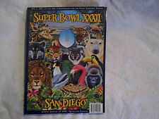 1998 SUPER BOWL XXXII Program Green Bay Packers Denver Broncos san diego,ca,nfl