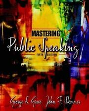 Mastering Public Speaking by Grice and John F. Skinner (2003, Paperback,...