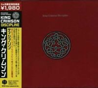 KING CRIMSON-DISCIPLINE-JAPAN CD Ltd/Ed D95