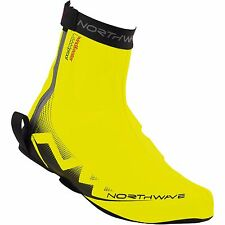 NEW Northwave H2O Winter Men's Cycling Shoe Cover Yellow L41-43/8.5-10 $50Rt