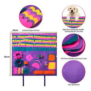 Schnüffelteppich Hund Haustier Matten für Weiche Haustier Nase GeruchsmatteSY