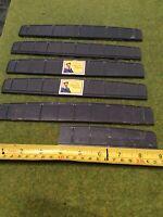 5 Full Length + 1 Cut Piece Peco LK-10 Plate Girder Bridge Sides.OO Scale