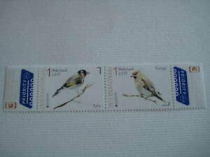 2019 Nederland Europa CEPT Set of 2 Bird stamps in mint condition - MNH